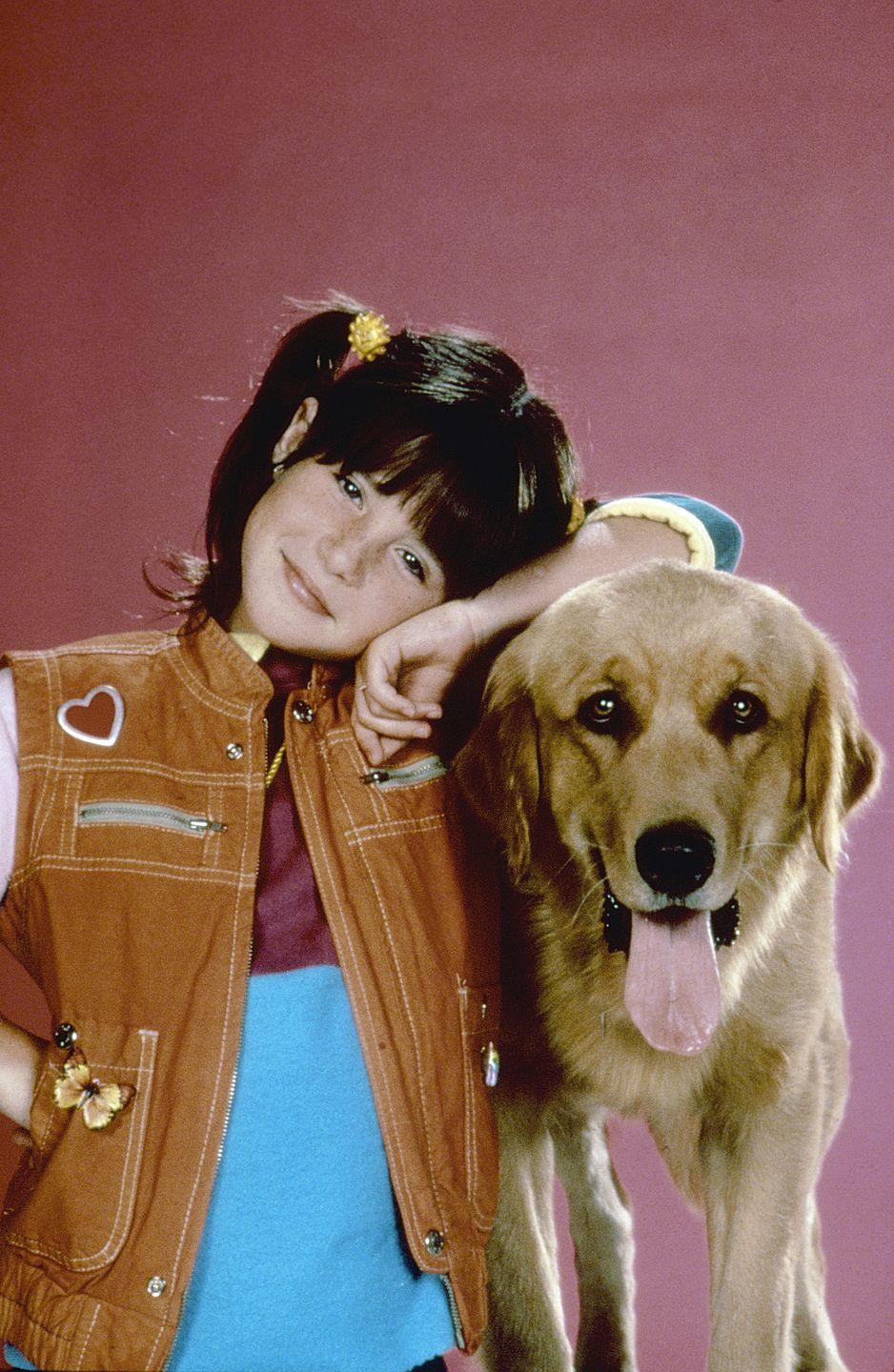 """<p>Soleil's career kicked off at 8 years old when she got the role of <em><a href=""""https://www.goodhousekeeping.com/life/entertainment/news/a38577/soleil-moon-frye-punky-brewster-baby-name/"""" rel=""""nofollow noopener"""" target=""""_blank"""" data-ylk=""""slk:Punky Brewster"""" class=""""link rapid-noclick-resp"""">Punky Brewster</a> </em>in the TV series about a little girl abandoned the supermarket with her dog. It had a strong following, running for five seasons. Soleil had many other guest roles on '80s TV shows. </p>"""