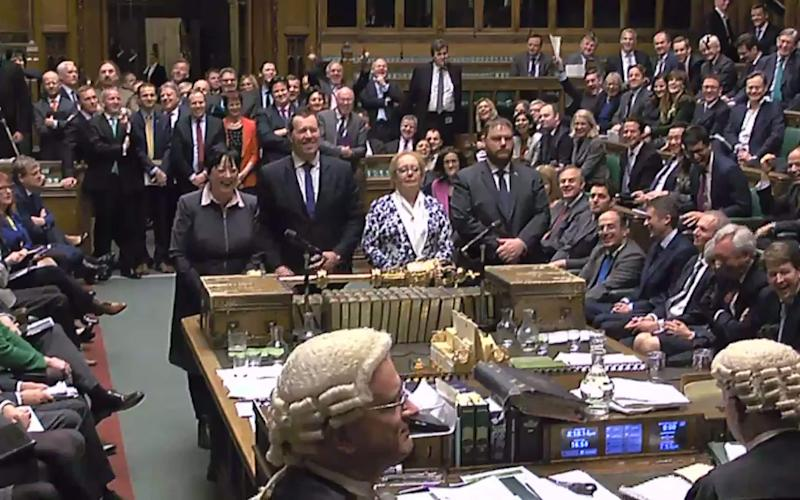 MPs will vote again in the Commons today - Credit: AFP