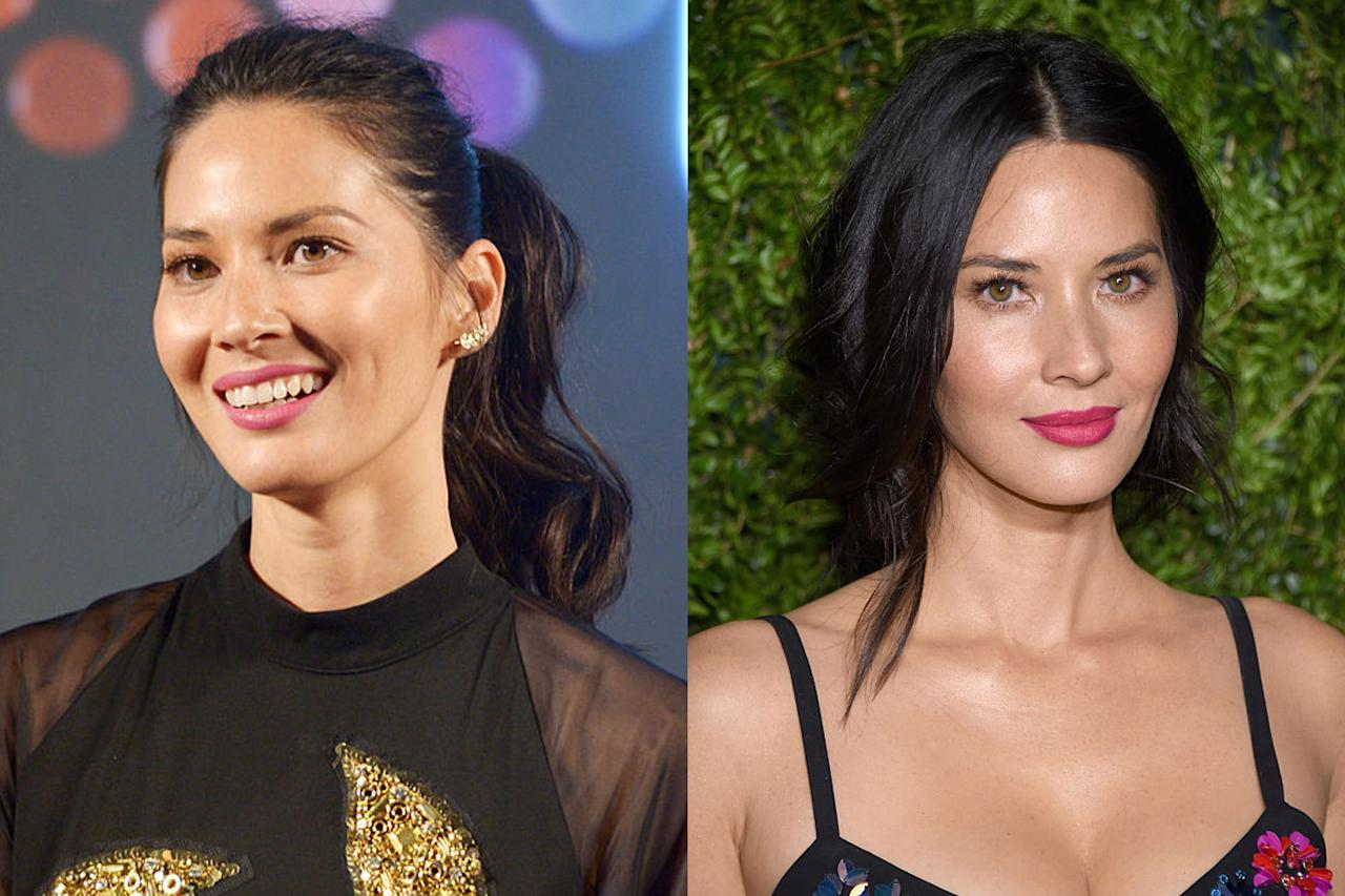 "<p>Actress Olivia Munn believes so. In the photo on the left, she says, her features are ""white-washed,"" while in the image on the right, her stunning freckles and ""Chinese bone structure,"" are accentuated. (Photos: Getty Images) </p>"
