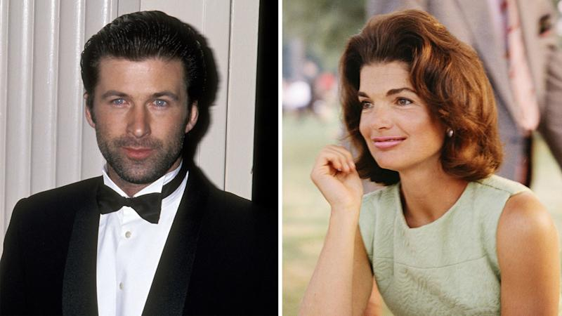 Jackie Kennedy Onassis Reportedly Pursued Alec Baldwin in the '90s