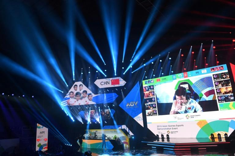 The eSports event at the Asian Games was held with much glitz and glamour