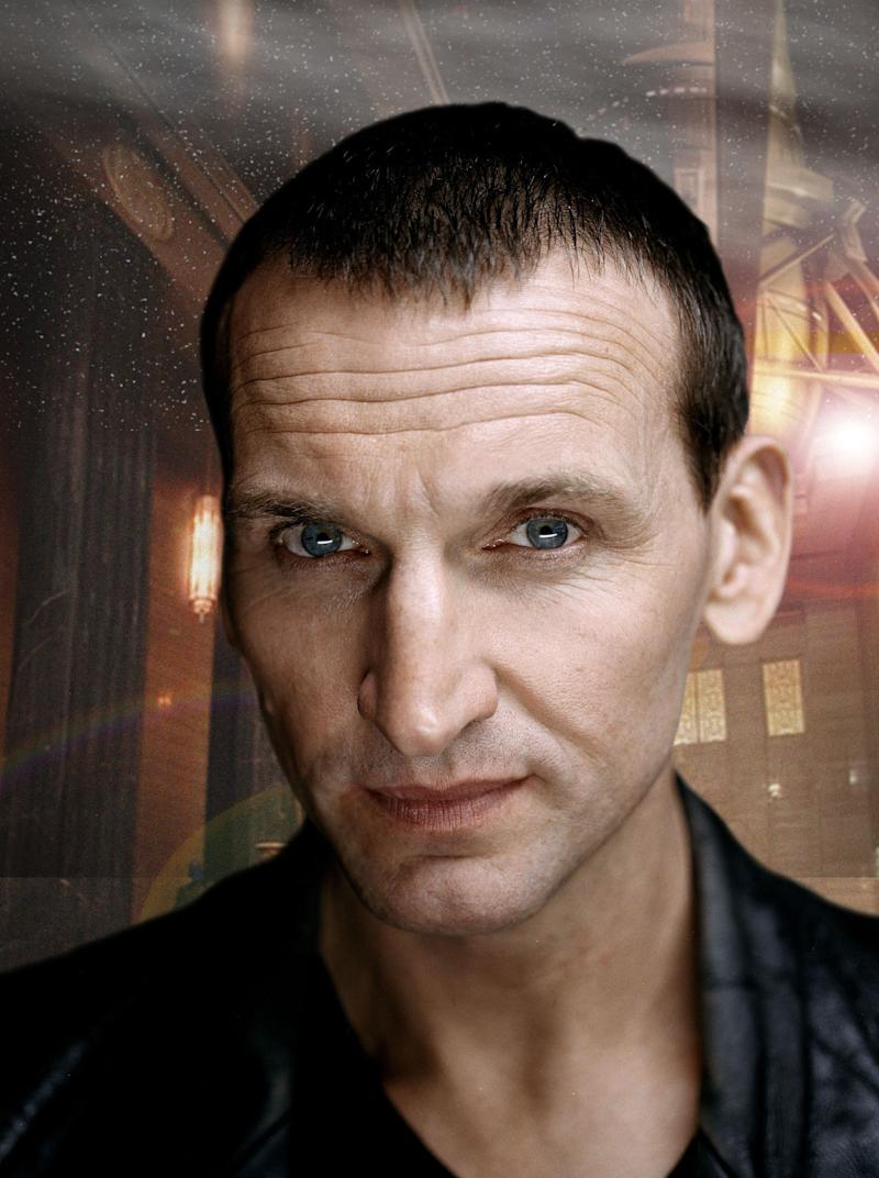 Christopher Eccleston in character as The Doctor (Photo: PA/BBC)