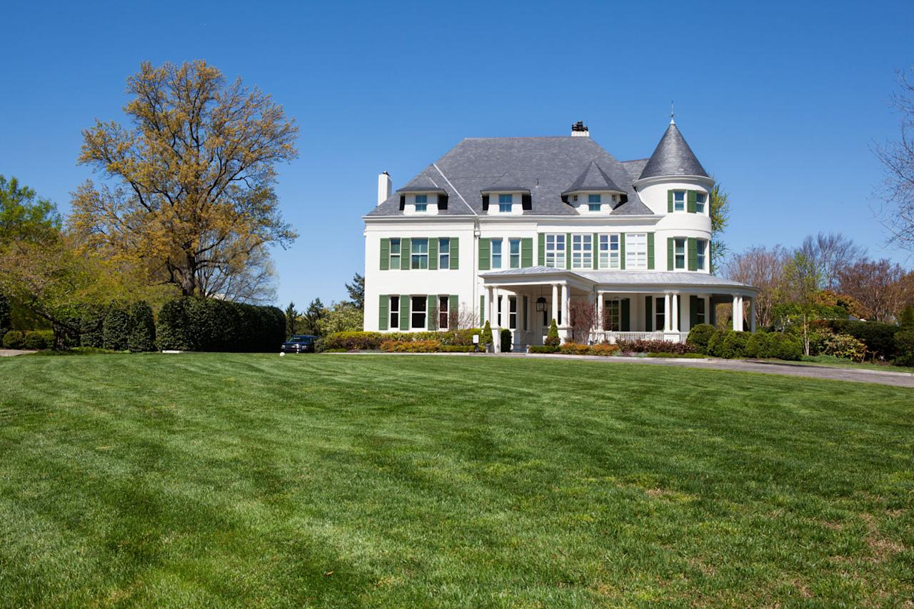 Exterior of the Naval Observatory Residence, April 2, 2012. (Official White House Photo by David Lienemann)