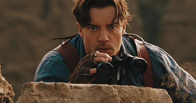 Brendan Fraser en The Mummy: Tomb of the Dragon Emperor (©Universal Pictures)