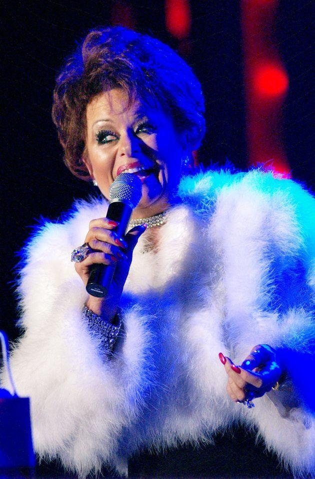 Tammy Faye Bakker Messner performs at the