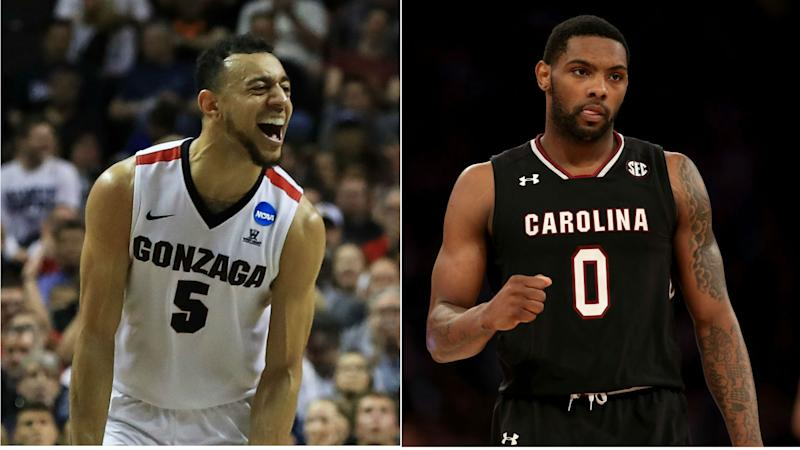 Final Four scores: Live updates, highlights from Gonzaga vs. South Carolina