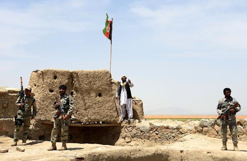 Army kills 50 Afghan forces in border fight