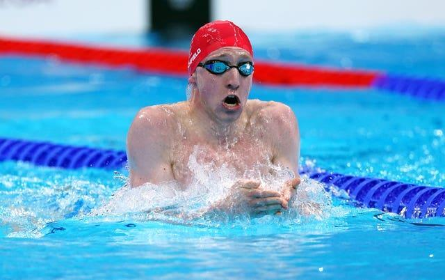 Max Litchfield finished in fourth place for the second successive Olympic Games