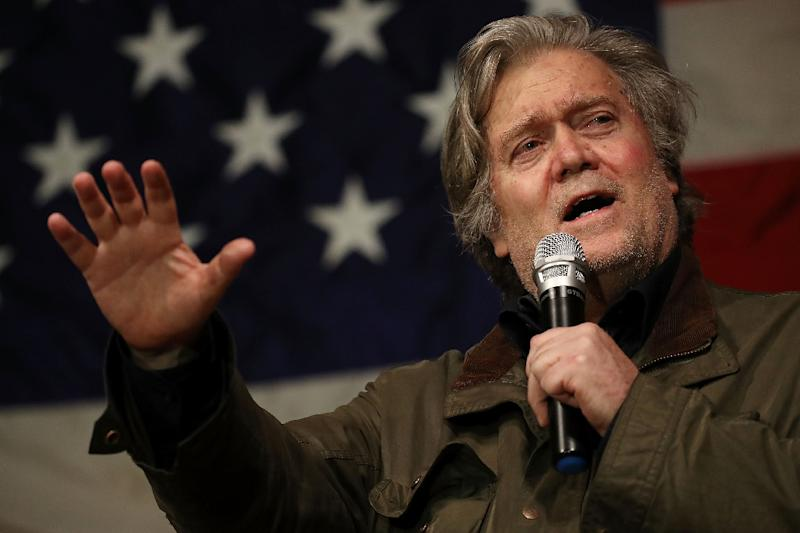 Bannon steps down from Breitbart News in post-book storm