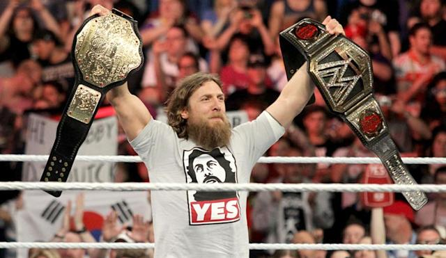 Daniel Bryan is returning to wrestling after being medically cleared by the WWE. (WWE)
