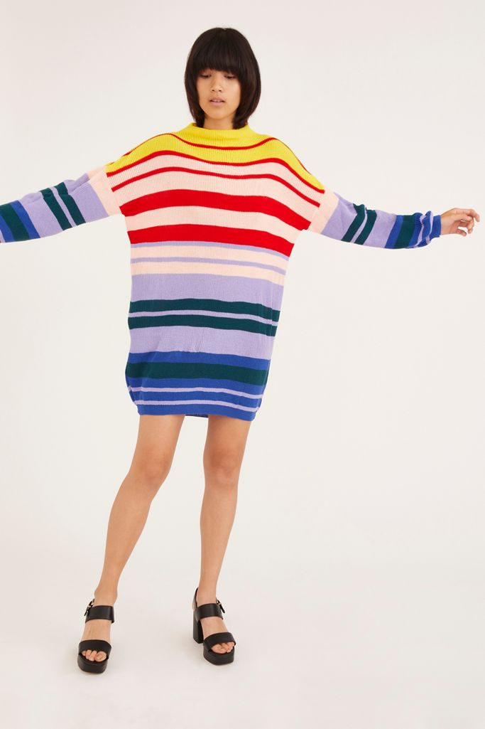"""<br><br><strong>Daisy Street</strong> Striped Knit Sweater Dress, $, available at <a href=""""https://go.skimresources.com/?id=30283X879131&url=https%3A%2F%2Fwww.urbanoutfitters.com%2Fshop%2Fdaisy-street-striped-knit-sweater-dress"""" rel=""""nofollow noopener"""" target=""""_blank"""" data-ylk=""""slk:Urban Outfitters"""" class=""""link rapid-noclick-resp"""">Urban Outfitters</a>"""