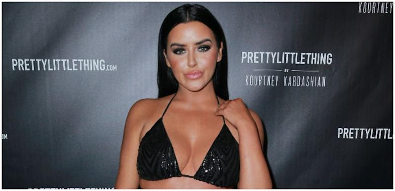 Abigail Ratchford Goes Topless Teases Fans With Sneak Peek At
