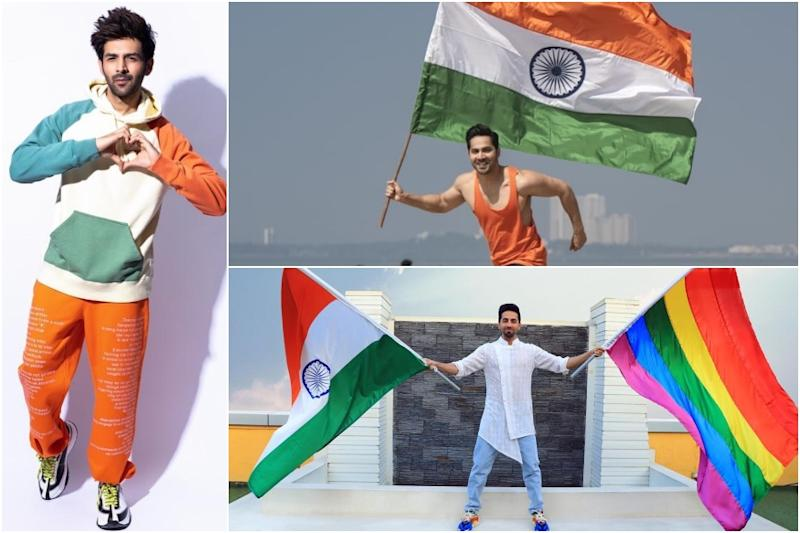 Republic Day 2020: Patriotic Fervour Runs High Among B-town Celebs as They Post Pics With Tricolour