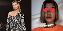 <p>Hailey Baldwin couldn't wait to share her new haircut, although, it's not as drastic as some would think. Instead of going with her usual long bob, Hailey went with a much shorter look. </p>