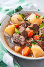 """<p>This cozy, savory stew combines Guinness and potatoes, making it the perfect comfort meal for St. Paddy's.</p><p><em><a href=""""https://www.delish.com/cooking/recipe-ideas/a26258692/irish-stew-recipe/"""" rel=""""nofollow noopener"""" target=""""_blank"""" data-ylk=""""slk:Get the recipe from Delish »"""" class=""""link rapid-noclick-resp"""">Get the recipe from Delish »</a></em><em><strong><br></strong></em></p><p><strong>RELATED: </strong><a href=""""https://www.goodhousekeeping.com/food-recipes/healthy/g978/comfort-food/"""" rel=""""nofollow noopener"""" target=""""_blank"""" data-ylk=""""slk:75 Comfort Food Dishes That Are Perfect for Any Time of Year"""" class=""""link rapid-noclick-resp"""">75 Comfort Food Dishes That Are Perfect for Any Time of Year</a></p>"""