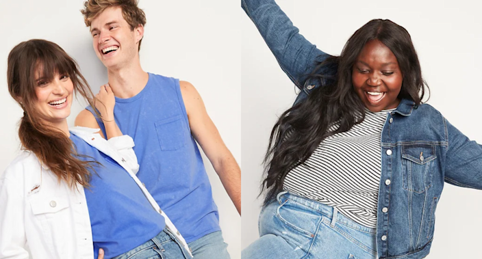 Save up to 50% on hundreds of styles at Old Navy.