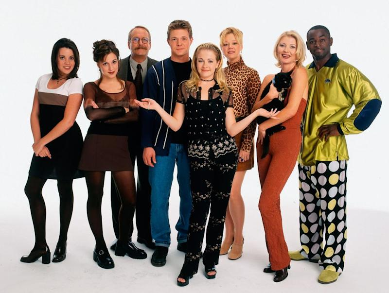 Sabrina the Teenage Witch aired from 1996 to 2003. Source: Getty