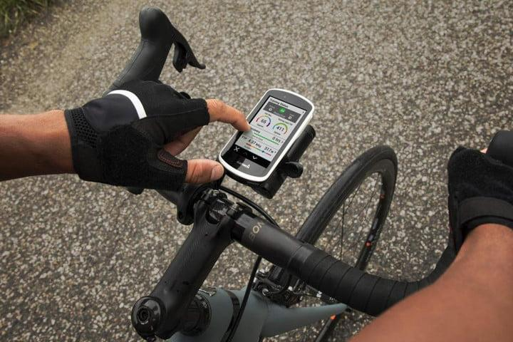 garmin edge on bike