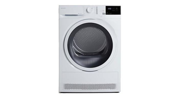 John Lewis & Partners JLTDH24 Heat Pump Freestanding Tumble Dryer, 8kg Load, A+ Energy Rating