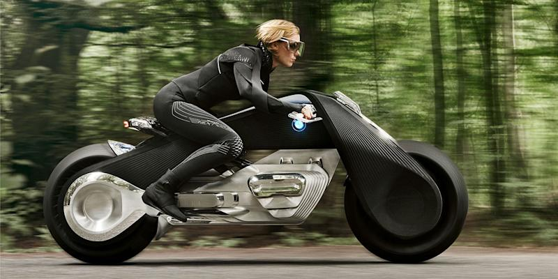In 100 years, BMW thinks motorcycles will look like this self-balancing concept