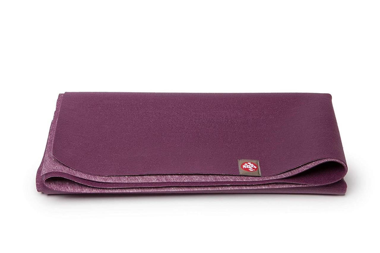 "<p>This <a href=""https://www.popsugar.com/buy/Manduka-Superlite-Yoga-Pilates-Travel-Mat-431725?p_name=Manduka%20Superlite%20Yoga%20and%20Pilates%20Travel%20Mat&retailer=amazon.com&pid=431725&price=44&evar1=fit%3Aus&evar9=46023215&evar98=https%3A%2F%2Fwww.popsugar.com%2Ffitness%2Fphoto-gallery%2F46023215%2Fimage%2F46023283%2FManduka-Superlite-Yoga-Pilates-Travel-Mat&list1=shopping%2Cworkouts%2Cfitness%20gear%2Chome%20workouts%2Cfitness%20shopping&prop13=mobile&pdata=1"" rel=""nofollow"" data-shoppable-link=""1"" target=""_blank"" class=""ga-track"" data-ga-category=""Related"" data-ga-label=""https://www.amazon.com/Manduka-SuperLite-Travel-Pilates-1-5mm/dp/B003NR62BI/ref=sr_1_1_sspa?keywords=fold+up+workout+mat&amp;qid=1554424448&amp;s=sporting-goods&amp;sr=1-1-spons&amp;psc=1"" data-ga-action=""In-Line Links"">Manduka Superlite Yoga and Pilates Travel Mat</a> ($44) is easy to fold up flat when you're not using it, to store underneath a coffee table or closet.</p>"