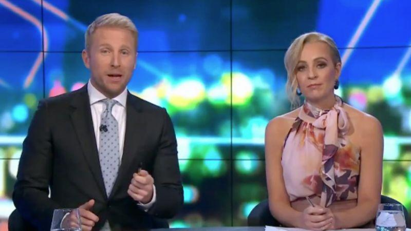 Hamish Macdonald has quit his hosting role on The Project alongside Carrie Bickmore. Photo: Channel 10