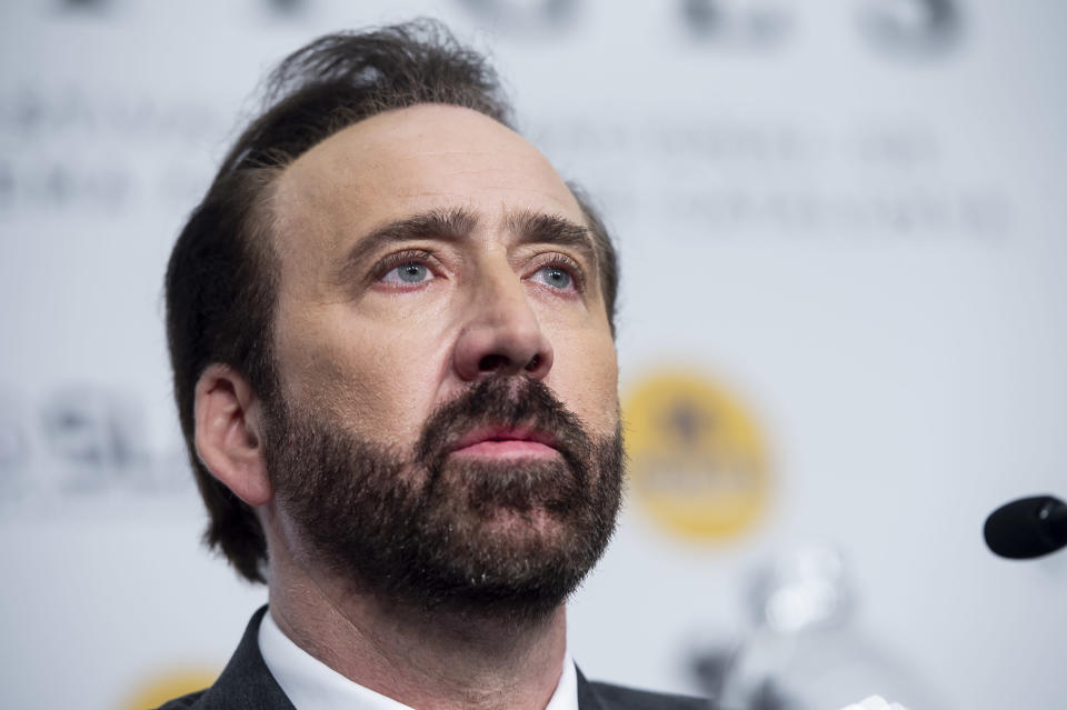 Classic Riches To Rags story - Nicolas Cage