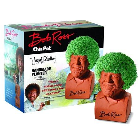 Bob Ross Chia Pet (Amazon / Amazon)