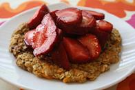 """<p>Who needs sugar when you've got a sweet potato, eh? Meet the breakfast of champions.</p><p>Get the recipe from <a href=""""http://www.healthytippingpoint.com/sweet-potato-pancake"""" rel=""""nofollow noopener"""" target=""""_blank"""" data-ylk=""""slk:Healthy Tipping Point"""" class=""""link rapid-noclick-resp"""">Healthy Tipping Point</a>.</p><p><br></p>"""