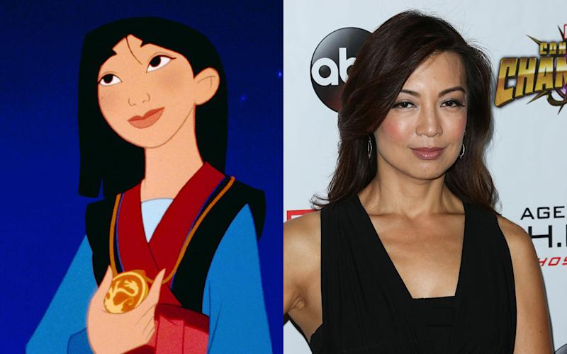 Ming-Na Wen – Fa Mulan in 'Mulan' (1998) - Credit: Rex/Getty