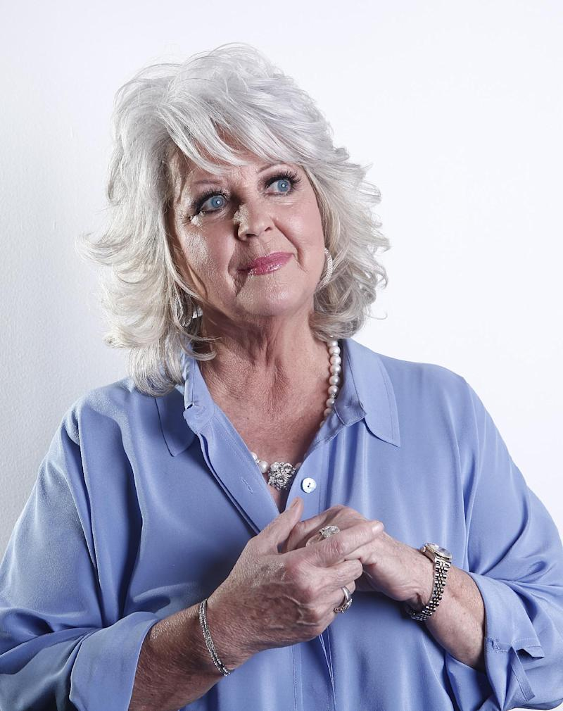 FILE - In this Jan. 17, 2012 file photo, celebrity chef Paula Deen poses for a portrait in New York. A week after Deen's admission of using racial slurs in the past surfaced in a discrimination lawsuit, pop culture watchers, experts in managing public relations nightmares and civil rights stalwarts who have tried to help other celebrities in her position see a long, bumpy road ahead. (AP Photo/Carlo Allegri, File)