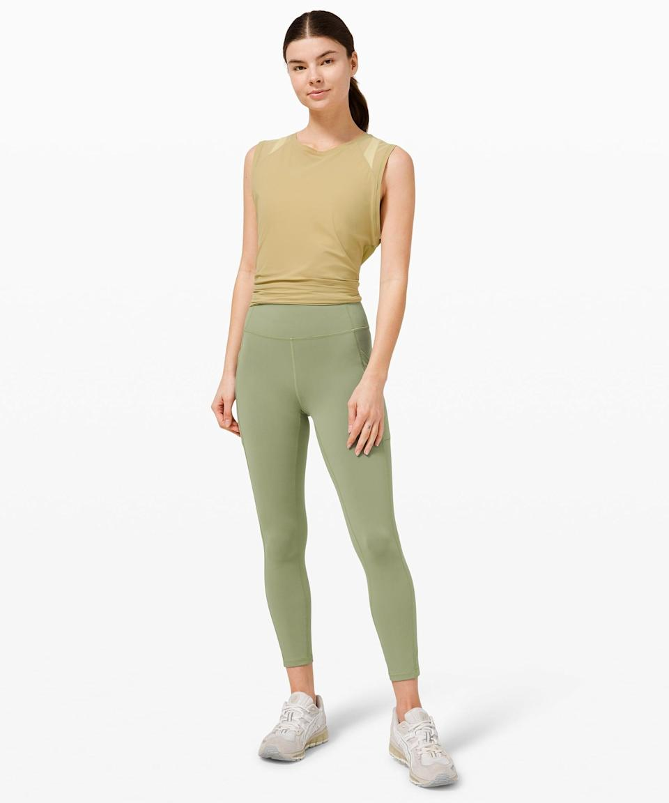<p>This <span>Lululemon Invigorate High-Rise Tight</span> ($99, originally $128) is the legging you're going to want to wear for every activity.</p>