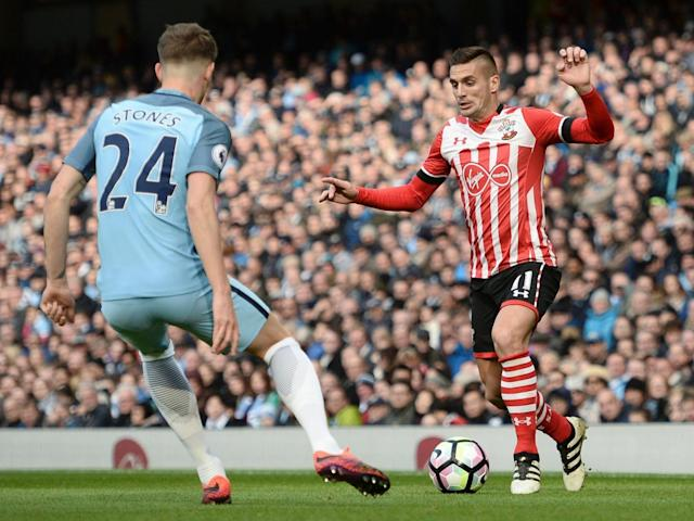Tadic has only completed 90 minutes four times under Puel (AFP/Getty Images)