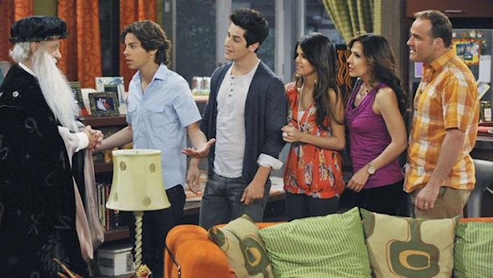 """""""Wizards of Waverly Place"""" lasted for four seasons."""