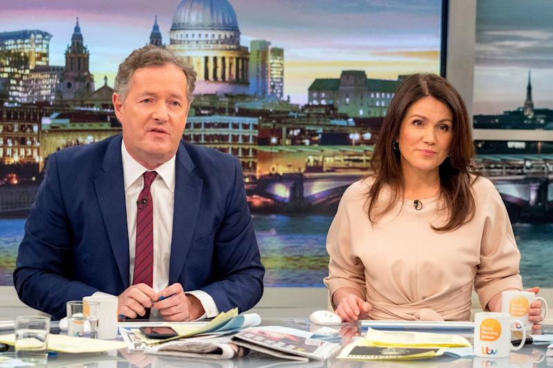 He stays! Good Morning Britain host Piers Morgan has delivered some news - and the reaction was mixed: Ken McKay/ITV/REX