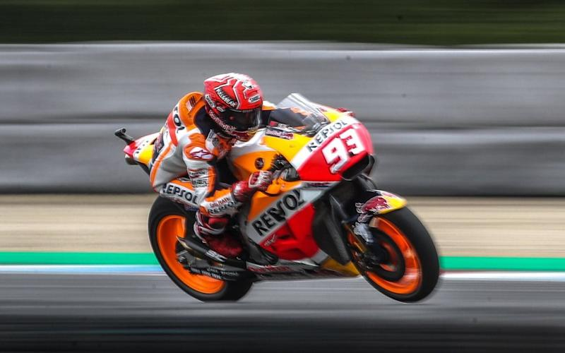 Marc Marquez leads the championship after Brno - EPA