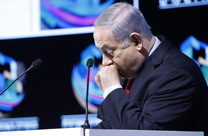 Police said the Israeli PM should face charges over allegedly receiving lavish and 'inappropriate' gifts: AFP/Getty