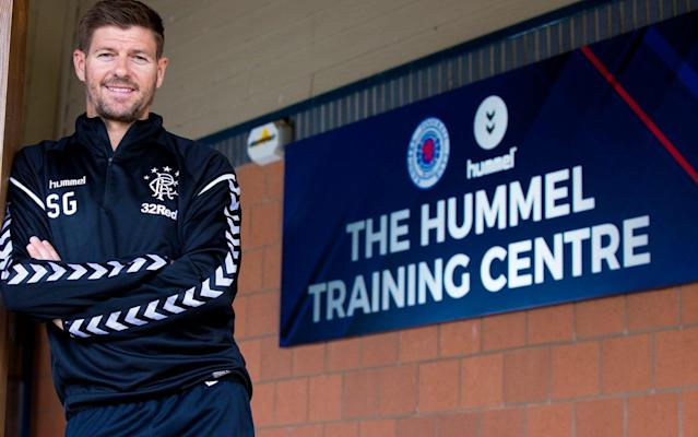 Steven Gerrard will launch his competitive managerial career at home when his Ranger side – currently in the process of a major overhaul – take on FK Shkupi of Macedonia in the Europa League at Ibrox on July 12. Shkupi, who are based in Skopje, finished fourth in the Macedonian First Division and are competing in Europe for the first time. On the face of it, they should not present a significant obstacle to Gerrard and his players but the former Liverpool and England captain has only to look back a year to be warned that hazards exist even at this embryonic stage of the competition. Last summer Rangers suffered the worst European result in their history when, under Pedro Caixinha, they were beaten by Progres Niederkorn, of Luxembourg despite winning 1-0 in the first leg at Ibrox. Although the allure of watching the first appearance of Gerrard's Rangers will attract a crowd of close to the Ibrox capacity of 50,817, far fewer travelling supporters will be able to travel to the second leg in Macedonia on July 19. Shkupi's Cair Stadium can accommodate just 6,000 spectators, of whom only 2,000 can be seated. Gerrard and his squad are in Spain for pre-season training and the manager has declared that his priority is to see an improvement in fitness levels. Meanwhile, Neil Lennon's Hibernian were also in the draw for the first qualifying round of the Europa League and will begin by meeting NSI Runavik of the Faroe Islands at Easter Road on July 12, before heading north for the return on July 19. Runavik have made 11 appearances in European competition and have yet to record an aggregate win although, like Shkupi, the islanders can draw inspiration from Progres Niederkorn, who were in the same situation until they accounted for Rangers.