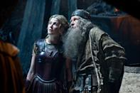 "Rosamund Pike and Bill Nighy in Warner Bros. Pictures' <a href=""http://movies.yahoo.com/movie/wrath-of-the-titans/"" data-ylk=""slk:Wrath of the Titans"" class=""link rapid-noclick-resp"">Wrath of the Titans</a> - 2012"