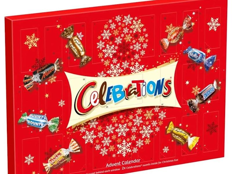 Celebrations advent calendar: Wilko