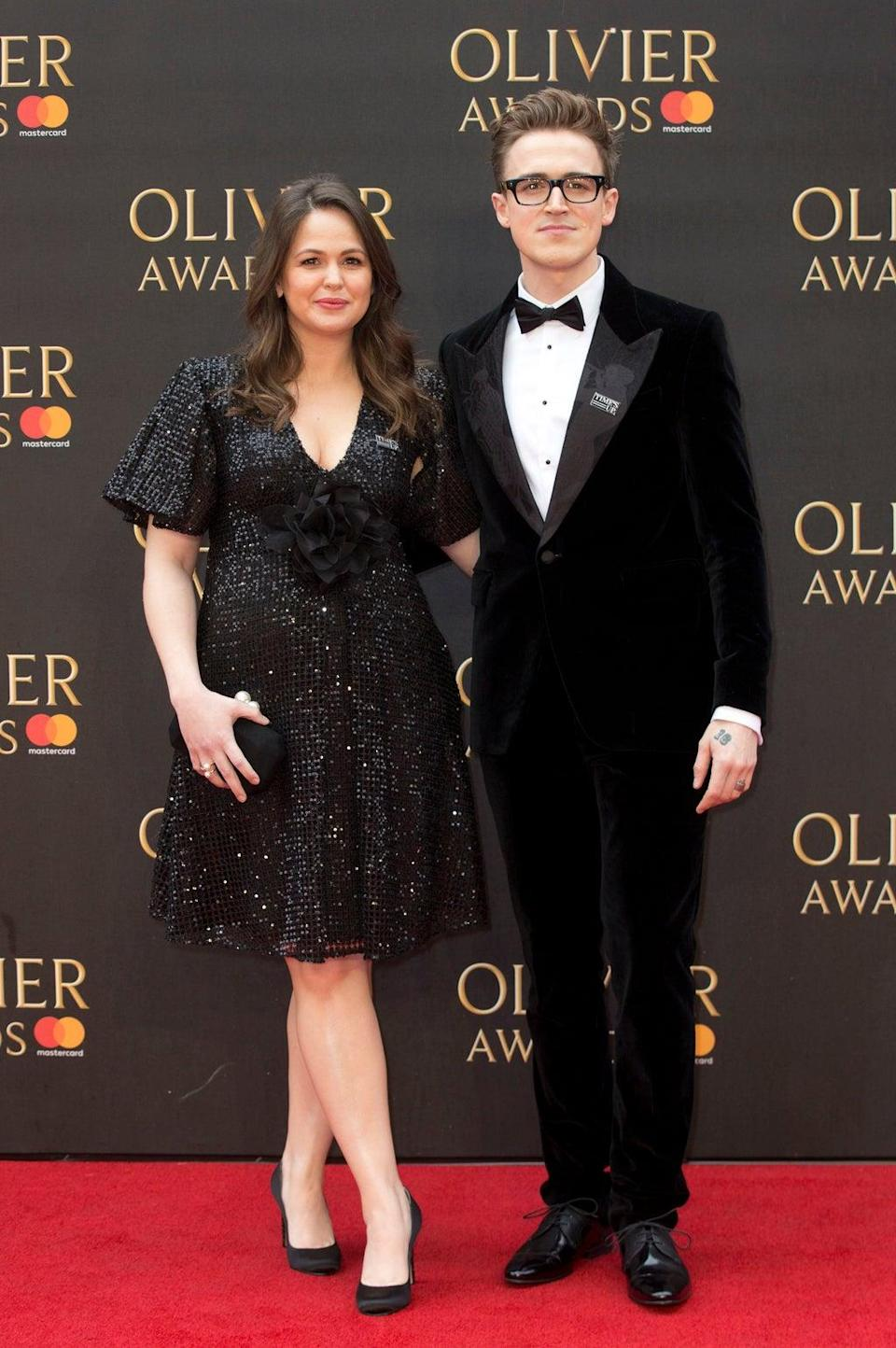 Tom and Giovanna Fletcher (Isabel Infantes/PA) (PA Archive)