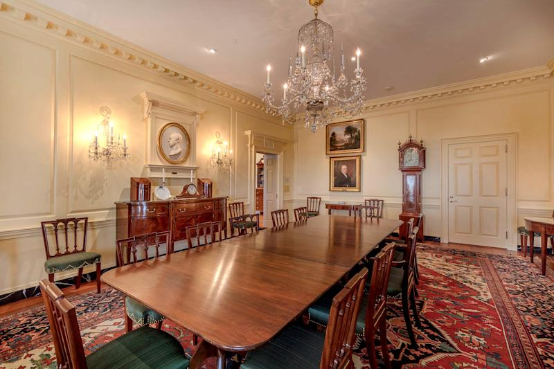 IMAGE: The James Madison Dining Room at the State Department (Carol Highsmith / Library of Congress)