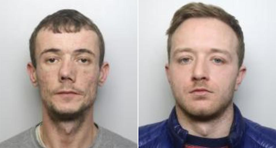 Liam Bellwood and Shane Henriques. (West Yorkshire Police)