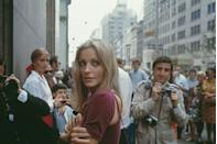 """<p>While living in New York City with Polanski in 1967, Tate <a href=""""https://www.esquire.com/entertainment/g1504/sharon-tate-photos/"""" rel=""""nofollow noopener"""" target=""""_blank"""" data-ylk=""""slk:posed for Esquire in photos"""" class=""""link rapid-noclick-resp"""">posed for <em>Esquire</em> in photos</a> that would become highly publicized and regarded in pop culture. </p>"""