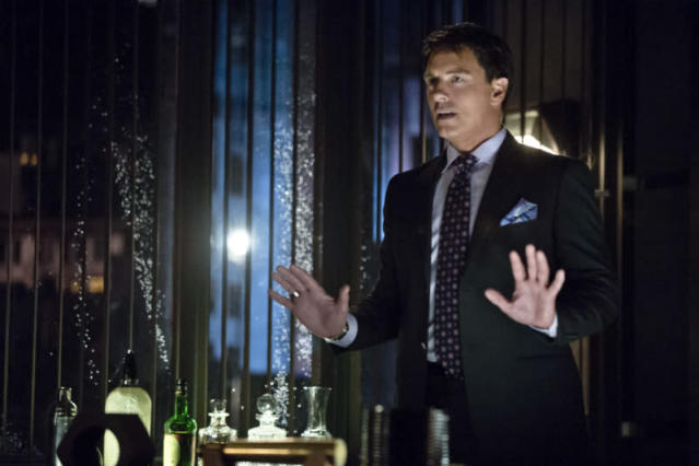 """""""Darkness on the Edge of Town"""" -- John Barrowman as Malcolm Merlyn"""