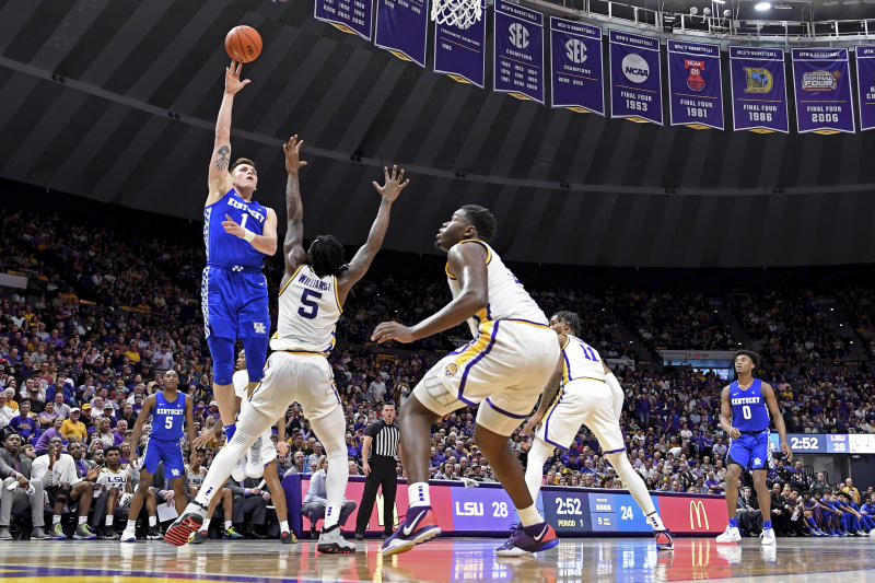 No. 10 Kentucky looks to extend SEC lead against Florida
