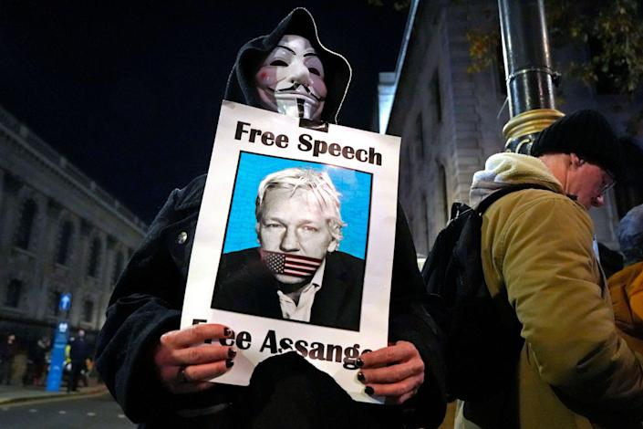 WikiLeaks founder faces 175 years in jail if convicted (Getty)