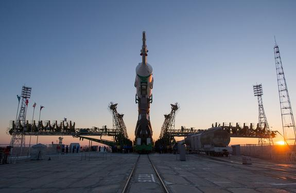 Three New Crewmembers to Launch to Space Station Wednesday