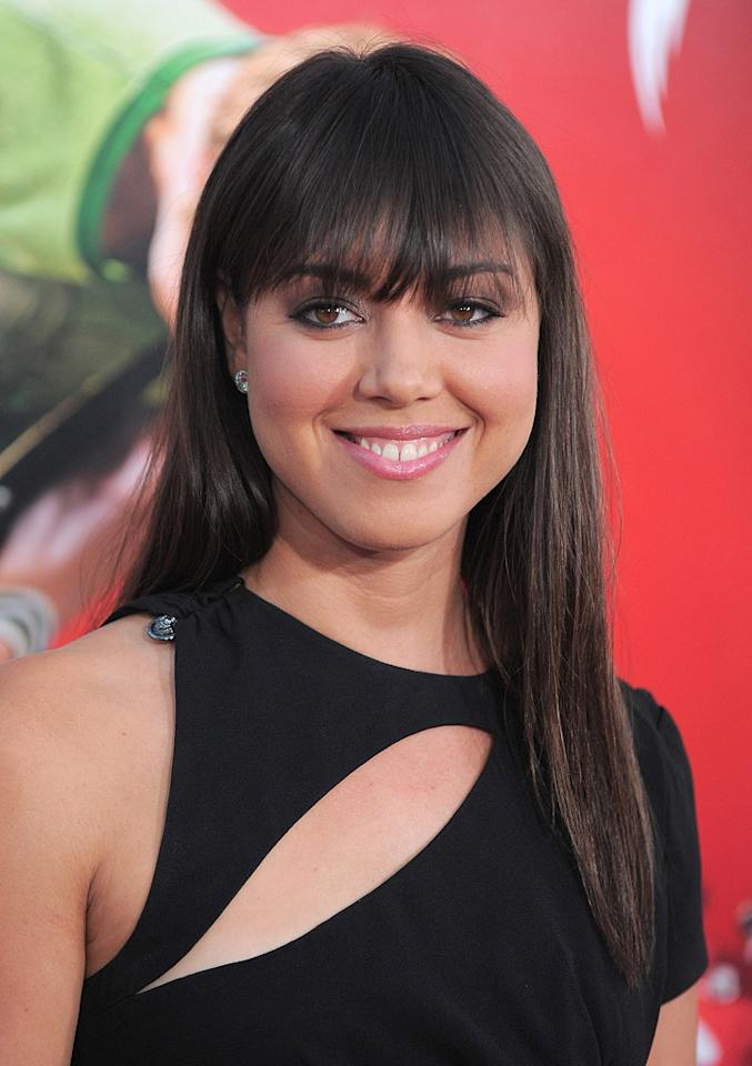"""<a href=""""http://movies.yahoo.com/movie/contributor/1810098094"""">Aubrey Plaza</a> at the Los Angeles premiere of <a href=""""http://movies.yahoo.com/movie/1810070753/info"""">Scott Pilgrim vs. the World</a> - 07/27/2010"""
