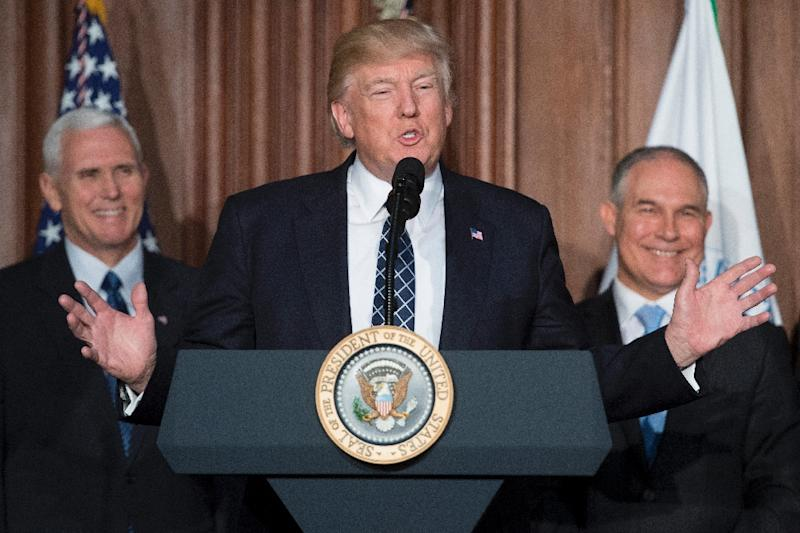 US President Donald Trump's budget proposals include slashing funding for the National Institutes of Health and eliminating one third of the staff at the Environmental Protection Agency